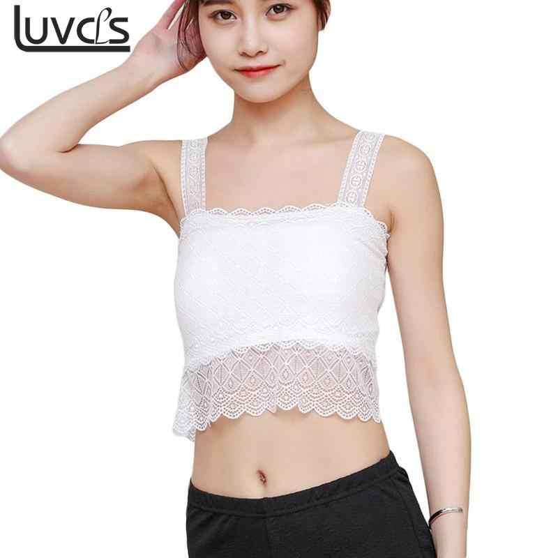 9e534923e6935f ... LUVCLS Women Summer Sexy Blouse Shirt Sleeveless Crochet Lace Shirt  Tank Tops Women Elegant Crop Top ...