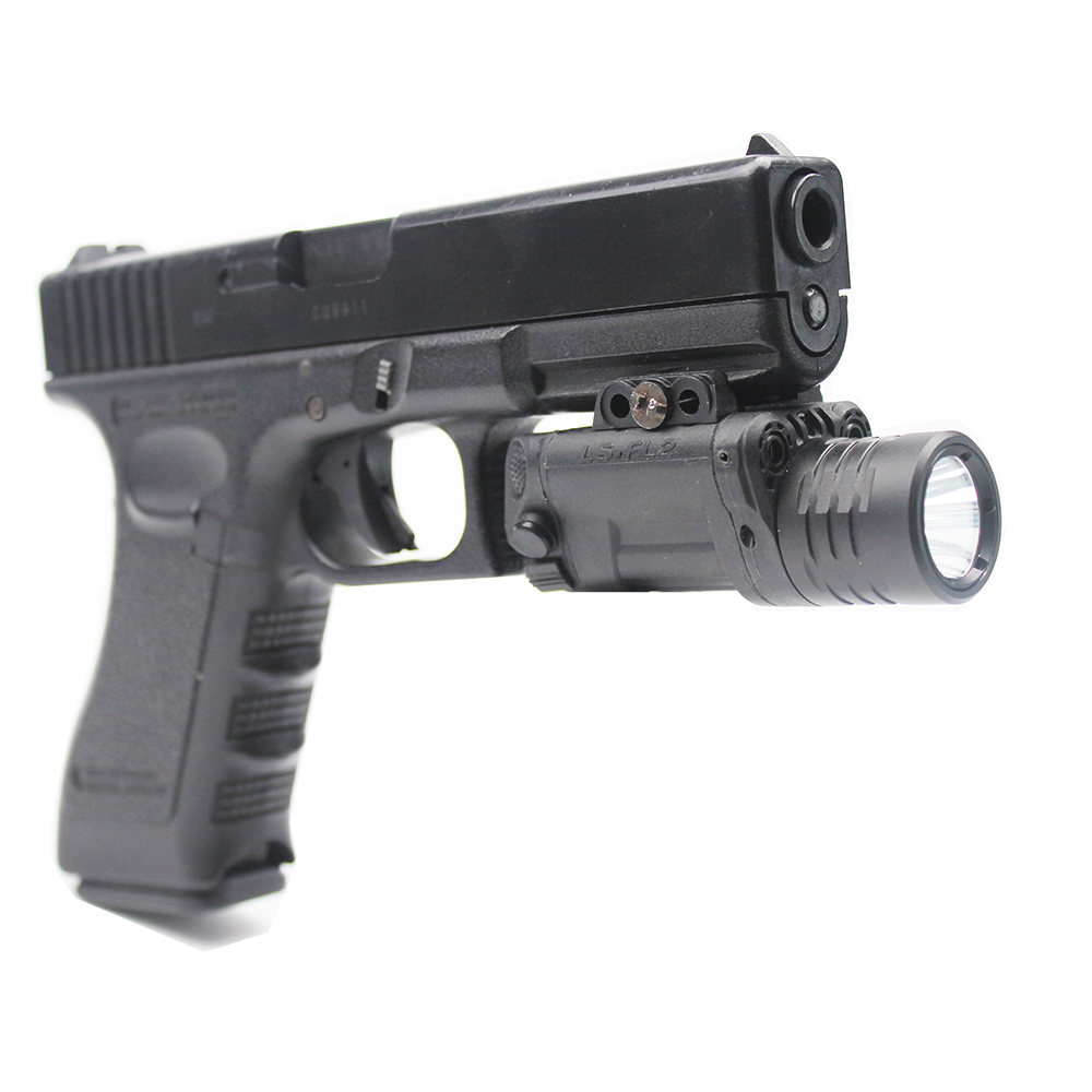 Acecare Drop Shipping Green And Red Aiming Laser With Tactical LED Flashlight Combo, Strobe LED Function