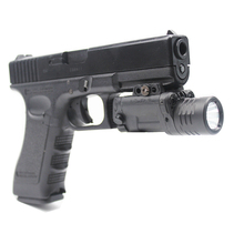 Acecare Drop shipping Green and Red Aiming Laser with Tactical LED Flashlight Combo, Strobe Function