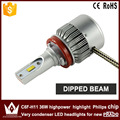 Night Lord 2pcs car led light H8 / H9 / H11 low BEAM Dipped Beam C6F 6000K white h11 Headlight lamp for Prado 2010-2015