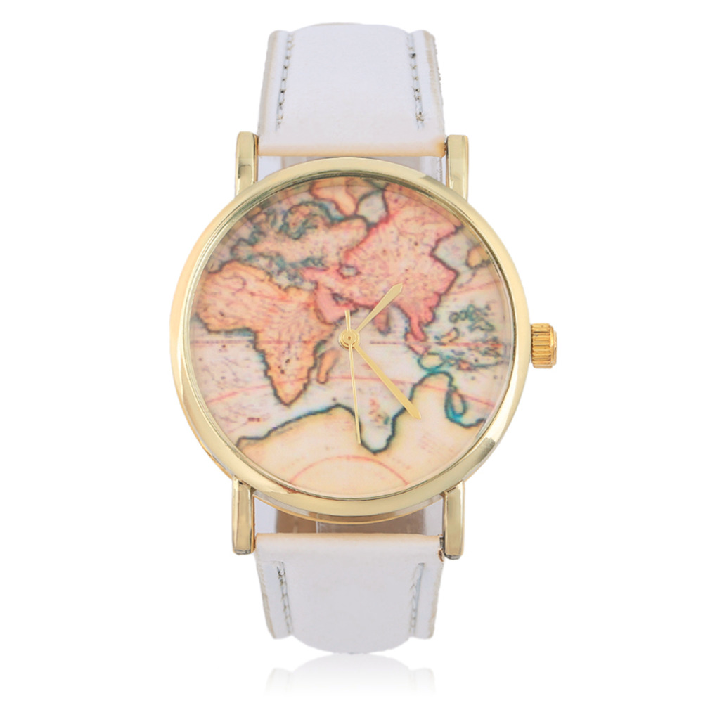 US $2.49 30% OFF OUTAD New Stylish Women Geneva Globe World Map Watch on equator map, us and europe map, australia map, google map, continent map, country map, canada map, middle east map, earth map, philippines map, united states map, america map, london map, hemisphere map, tectonic plates map, global map, austria map, syria map, robinson map, usa map,