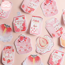 Mr Paper 30pcs/lot 8 Designs Pink Sweet Snack Memo Pad Sticky Notes Notepad Diary Creative Stationery Self-Stick Notes Memo Pads 2pcs lot loose leaf memo pads novelty words cards creative constellation notepad vocabulary cards for learning kawaii stationery