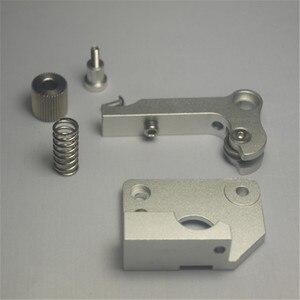 Wanhao/peças de metal de alumínio da mão esquerda MK9 Extrusora flashforge Impressora 3D Atualizar pacote