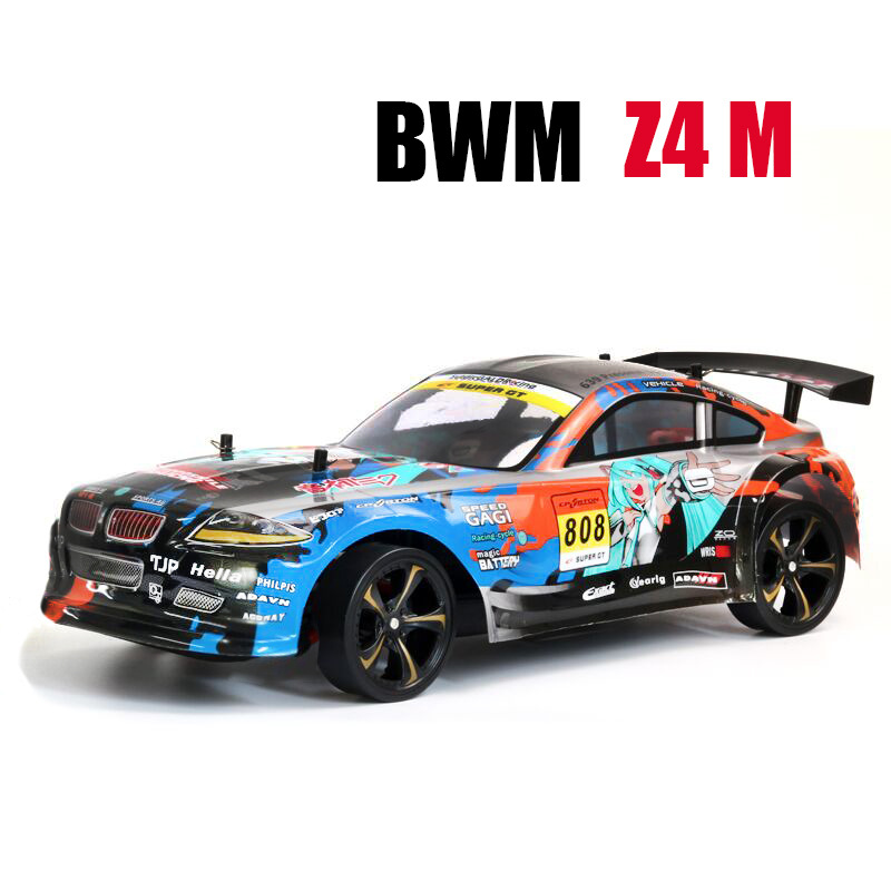 RC Car For GTR / BMW1 4WD Drift Racing Car Championship 2.4g Off Road Rockstar Radio Remote Control Vehicle Electronic Toys HobbRC Car For GTR / BMW1 4WD Drift Racing Car Championship 2.4g Off Road Rockstar Radio Remote Control Vehicle Electronic Toys Hobb