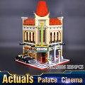 2016 Nueva LEPIN 15006 2354 Unids Creador Ciudad Calle Palacio Cine Modelo Kits de Construcción de Juguete Bloques de Ladrillos Compatibles 10232