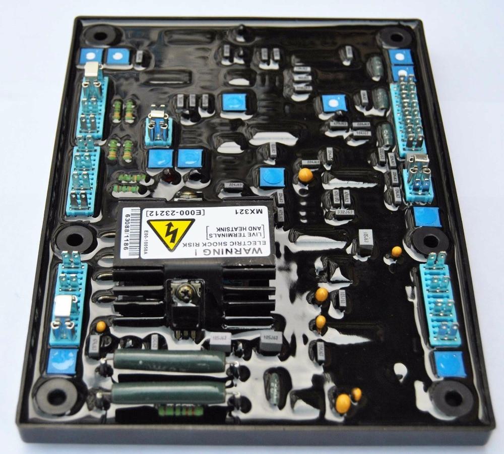 voltage regulator MX321 diesel generator AVR avr mx321 fast