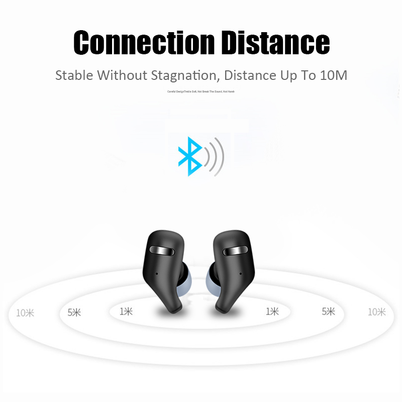 M&J TWS Bluetooth 5.0 Earphones And Earbuds With Mic For Handsfree Call 10