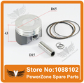LONCIN CBD250 250cc Engine Piston Ring Piston Pin Sets Fit To Motorcycle Dirt Pit Bike ATV QUAD Parts Free Shipping