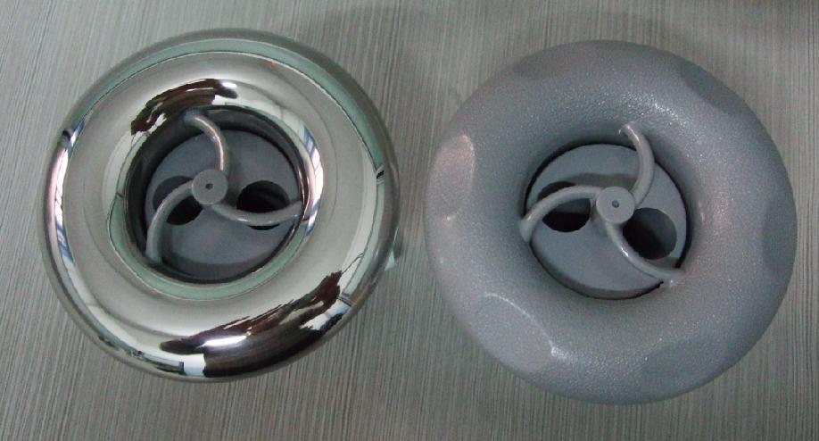 Spa & piscine 4 pouces spa jets plastique/SS avec double trou buse rotative disponible de ChampionSpa & piscine 4 pouces spa jets plastique/SS avec double trou buse rotative disponible de Champion