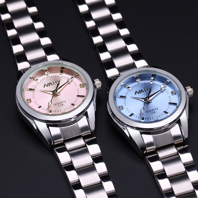 NARY New Fashion women's Rhinestone quartz watch