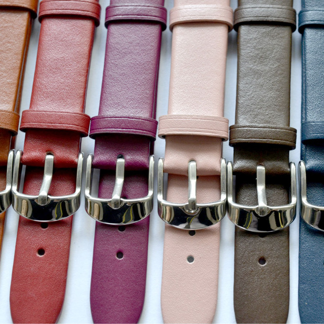 Pin Buckle Leather Watchbands