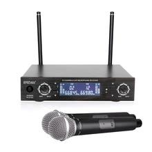 цена на Hot Selling Wireless Mic Professional Wireless Microphone System R-U520 High Quality Wireless Microphone