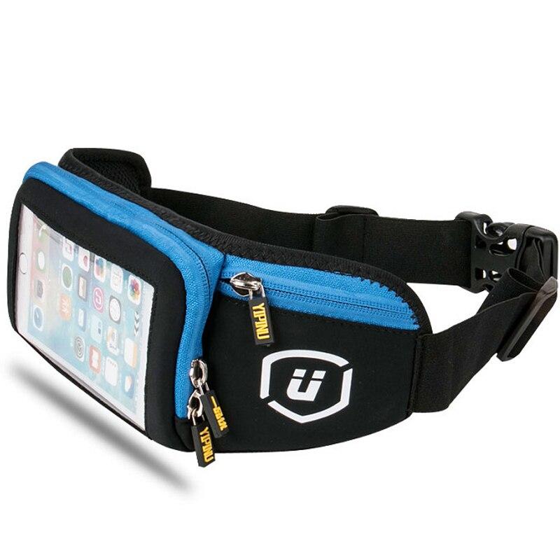 Sport Bag Touch Screen Designer Sports Accessories Cycling Bike Bicycle Mountain Downhill Waterproof Waist Bag Running