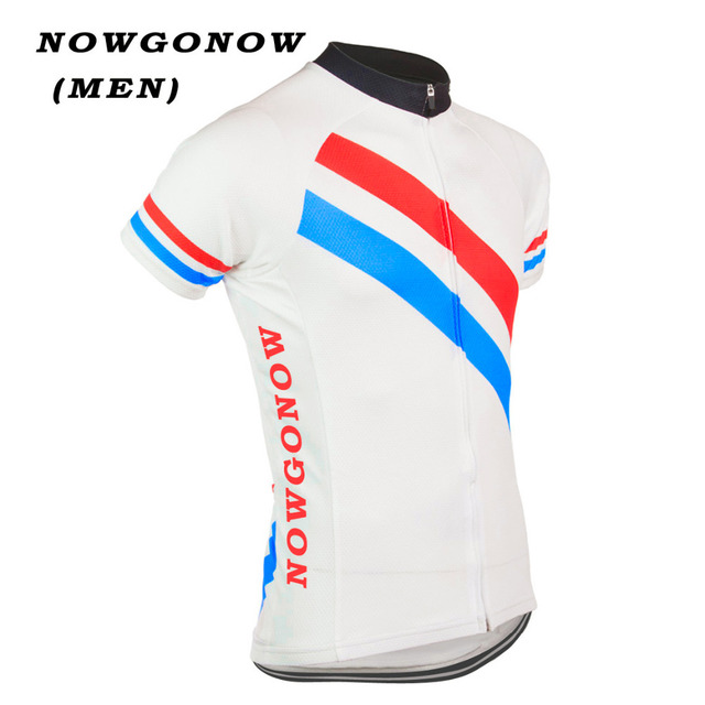 Men 2017 cycling jersey champion Netherlands Holland team classical bike  wear maillot ciclismo clothing riding racing NOWGONOW e0acb74d5