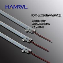10pcs ac 220v LED רצועה נוקשה ללא נהג עבור T5 T8 צינור, 5w 6w 8w 10w SMD 5730 2835 led pcb בר אור לא צריך כוח לבן