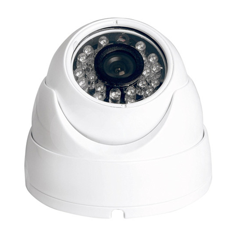 2018 New Products 1.3 Megapixels 24Pcs IR Led AHD Dome Vandal-proof CMOS Sensor Security Surveillance Systems CCTV Camera