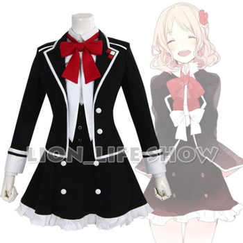 DIABOLIK LOVERS Yui Komori Uniforme Scolaire Cosplay Costume 2 colors - DISCOUNT ITEM  12% OFF All Category