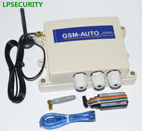 Waterproof IP65 4G GSM and SMS gate door opener GSM 4G Remote Control System module box ( Relay Control ) 100 users 2 relays