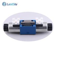 hydraulic solenoid valve 24vdc hydraulic solenoid valve manifold hydraulic flow control valve 4WE6C6X/EG24N9K4 4WE6