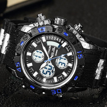 Men s Watches Sport Military Male Watches For Men Brand Digital Watch Gear Multi function LED