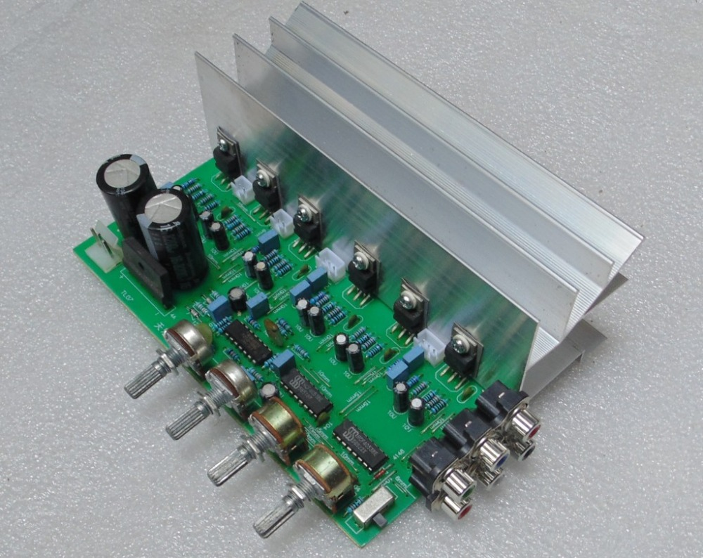 Ampcircuits 100w Btl Tda2030 Amplifier Circuit