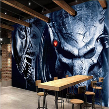 Alien vs Predator cafe Custom photo wallpaper for living room 3d mural wallpaper for walls 3 d TV background photo wall paper