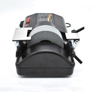 Image 2 - חשמלי שני דרך חידוד מכונה 120W 220V מחדד 5 אינץ חשמלי מים מקורר מטחנת סכין מכונת גריסה מחדד