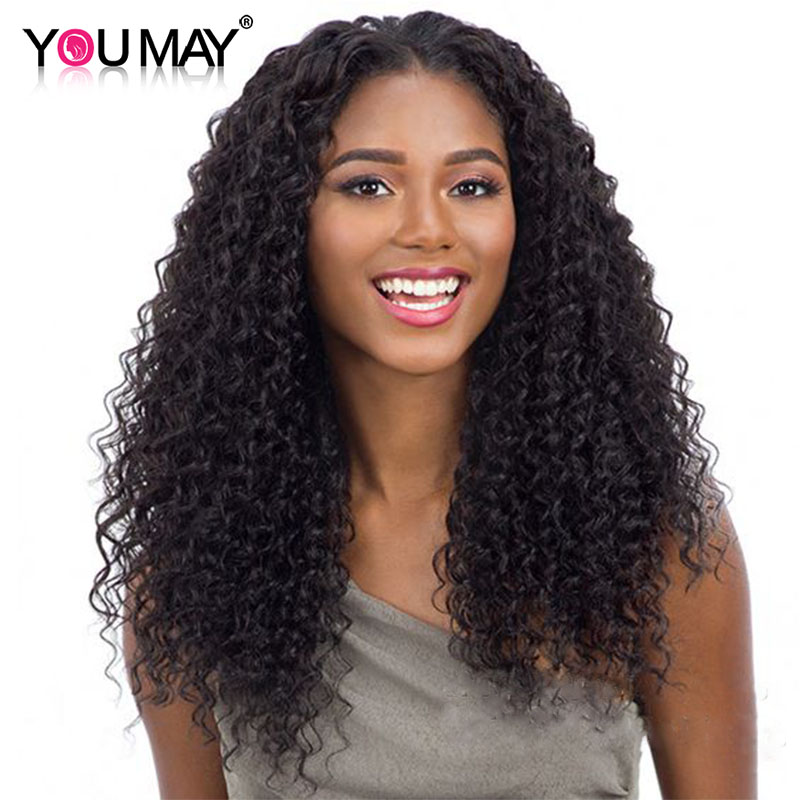 Hair Extensions & Wigs 180% Density Curly Silk Base Full Lace Wigs With Baby Hair Pre Plucked Brazilian Remy Wigs With Silk Base Closure You May