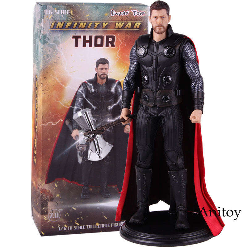 Marvel Avengers Infinity War Thor 1/6 Scale Collectible Figure PVC Thor Action Figure Model Toy