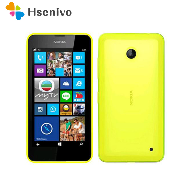 Original <font><b>Nokia</b></font> Lumia 636 4G LTE Mobile <font><b>Phone</b></font> 4.5