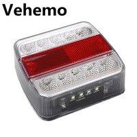 12V LED Truck Car Trailer Boat Caravan Rear Tail Light Stop Lamp Taillight New