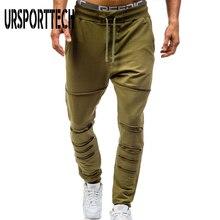 Новые весенние мужские повседневные брюки свободные XXXL Лоскутные выдалбливают двойные карманы дизайн брюки модные Бодибилдинг Фитнес Брюки
