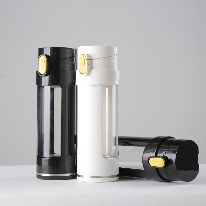 NEW Portable Rich Hydrogen Alkaline Water Generator ORP Water Filter Bottle Water Purifier Cup Without Electric wholesale lcd alkaline water ionizer