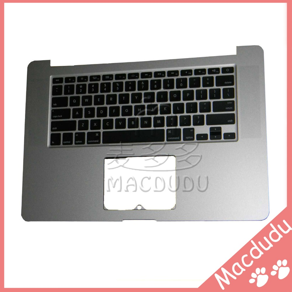 New US keyboard With top case 2013 Year For Macbook Retina A1398 2013 year Top Case Topcase new topcase with tr turkish turkey keyboard for macbook air 11 6 a1465 2013 2015 years