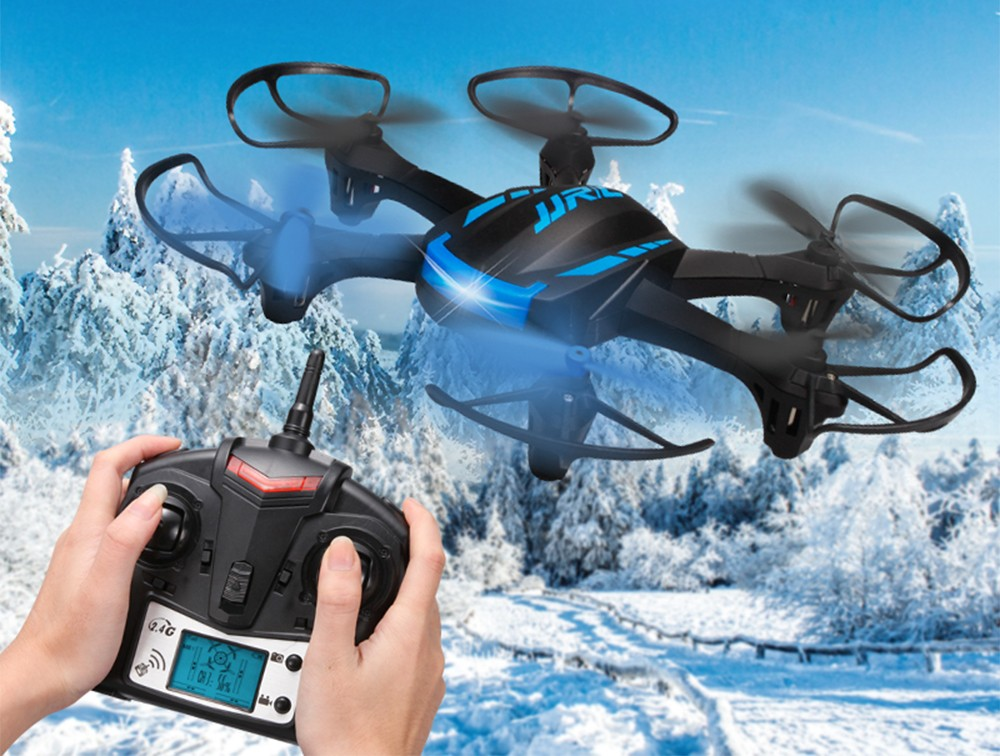F16223/ 24 JJRC H21 2.4GHz 4CH RC Drone RTF Headless Mode Hexacopter One Key Return Helicopter with LED Lights