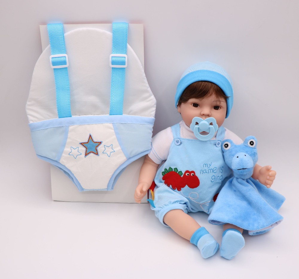 DollMai porte-bébé reborn jouet poupées 17