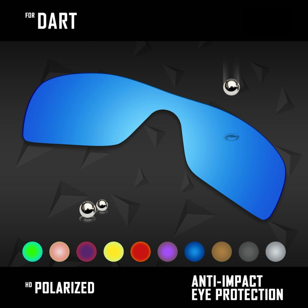 OOWLIT Lenses Replacements For Oakley Dart Sunglasses Polarized - Multi Colors