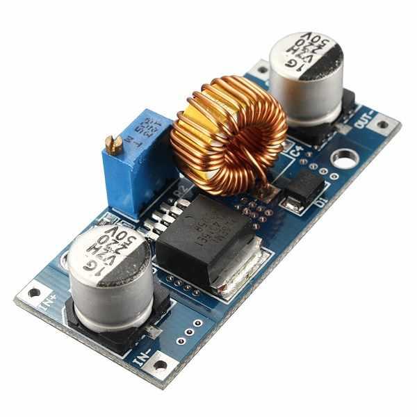 جديد DIY بها بنفسك وحدة كهربائية عالية الجودة XL4015 5A DC-DC تنحى قابل للتعديل وحدة امدادات الطاقة محول فرق الجهد