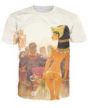 Egyptian queen soldiers T-Shirt cartoon 3d print summer tee sexy t shirt for women/men casual clothes Plus size S-5XL R792