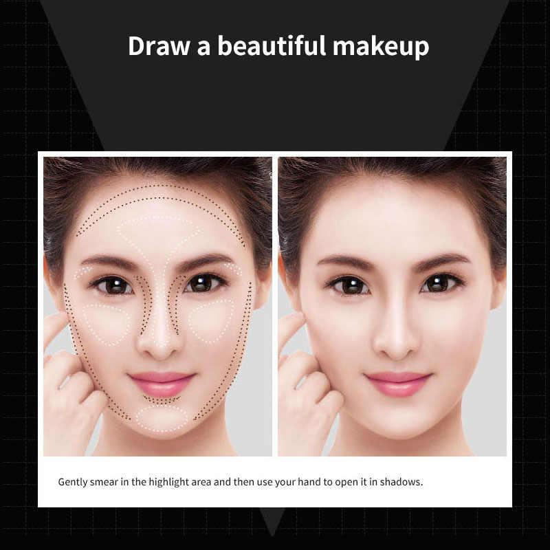 BIOAQUA, консилер для макияжа лица, ручка, мульти эффект, двойная головка, 3D бронзер, хайлайтер, палочка, текстура, контур, карандаш, основа