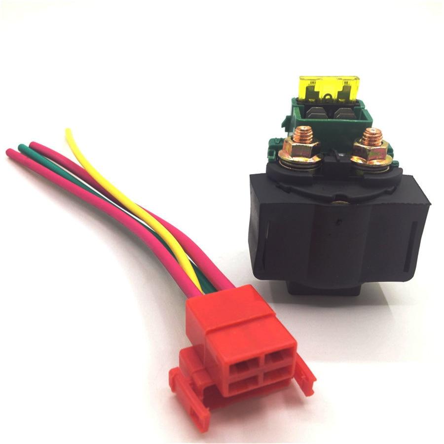 solenoid plug connector CBR 250 400 CBR900 Honda  Replacement starter relay