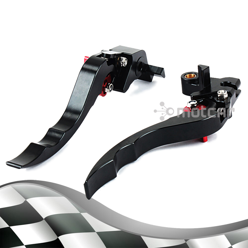 Black Aluminum Hardware Left Aad Right CNC Short Levers Clutch Brake Lever For Yamaha Super Tenere 2012 2014 2013 XT1200ZE left clutch brake lever assy and front brake handle bar suit for cf650nk cfmoto parts code is a000 100200 a000 080113