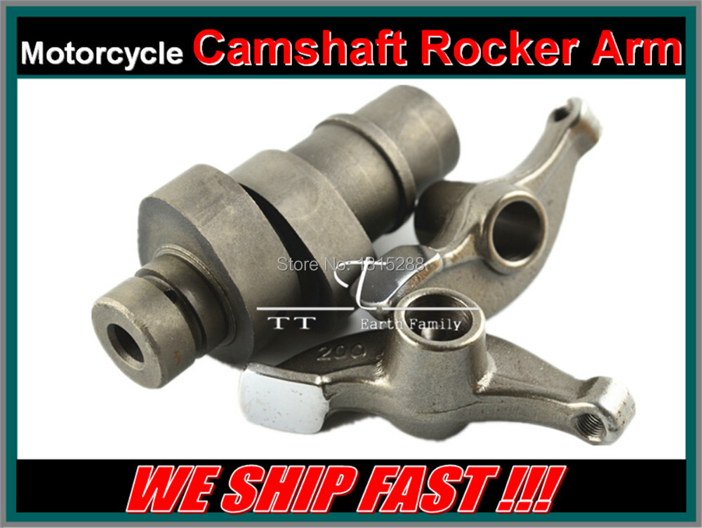 100% Brand new High Quality Motorcycle Engine parts cam shaft tappet shaft cam for Kawasaki TR250 TR 250 head cylinder Rockerarm