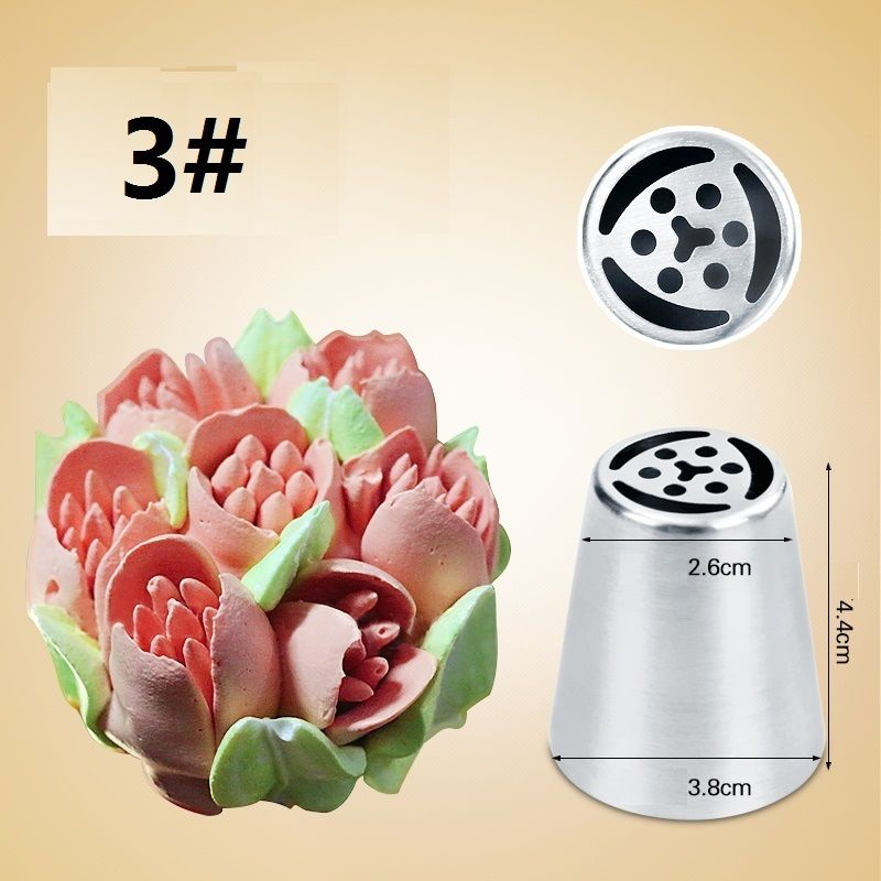 Aliexpress Com Buy Stainless Steel Russian Tulip Icing
