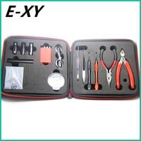 E-XY 2nd generation Coil Tool Kit DIY Kit For RDA RBA RTA RDTA Atomizer Professional DIY Tool Bag Coiling Kit E Cig Accessories