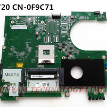 KEFU MODEL:R09 CN-0F9C71 F9C71 FOR DELL inspiron 5720 laptop motherboard DA0R09MB6H1 REV:H mainboard NOTEBOOK PC