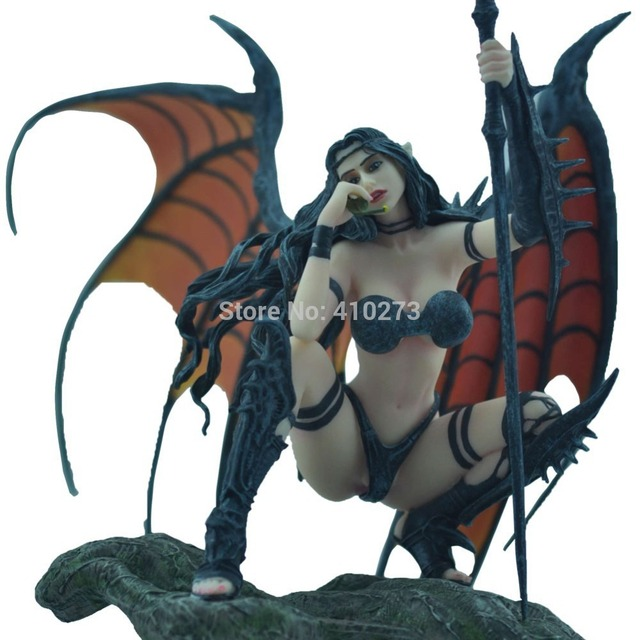 and devil girl Sexy nude angel