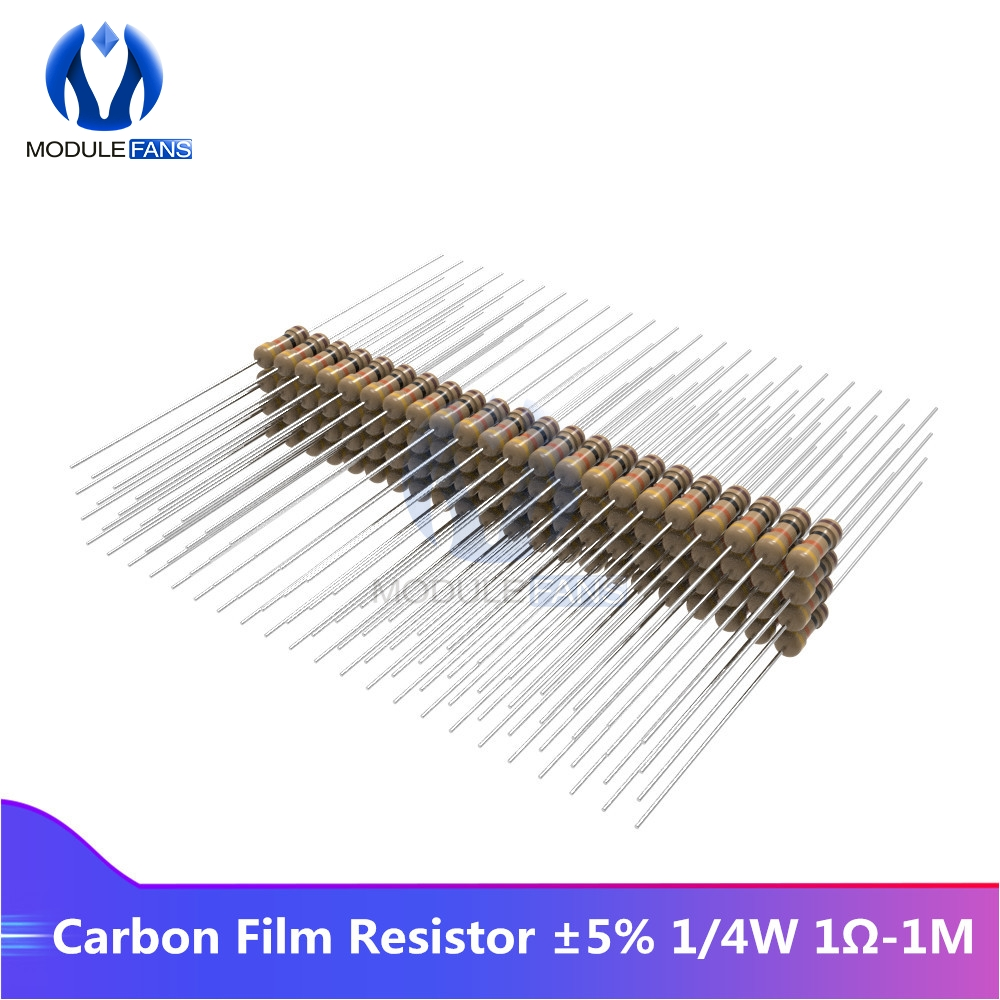 100 coal layer Resistors 30 Ohm//0,25 W//5/%
