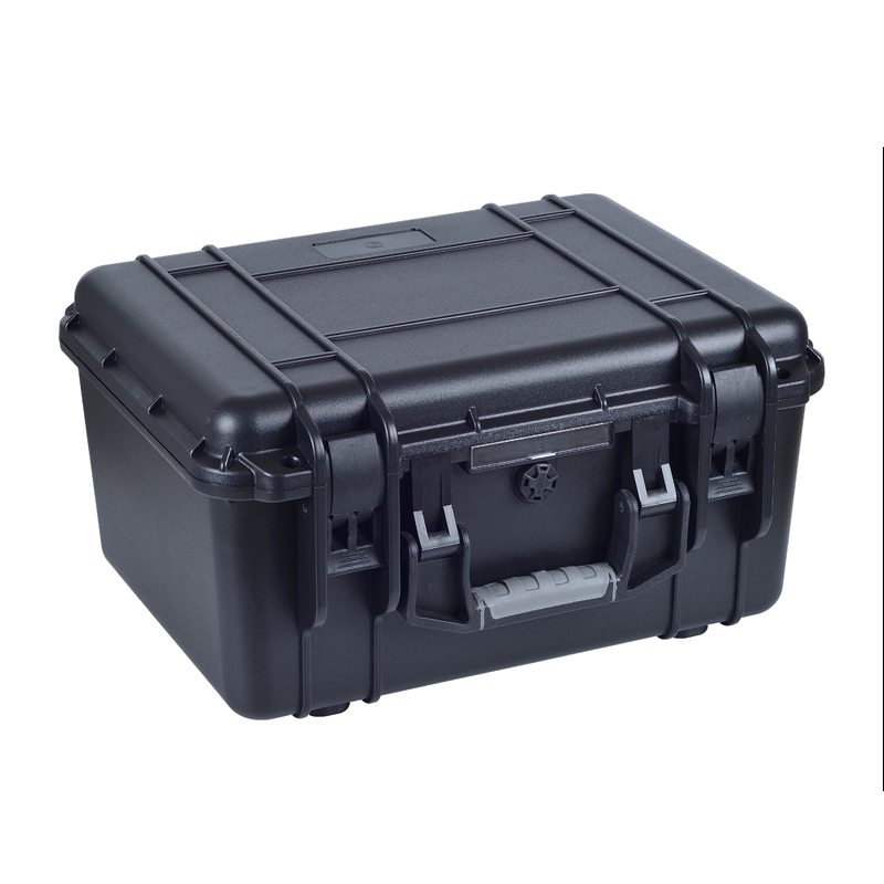 SQ3224 Injection Mould Waterproof Hard Plastic Military Case With Pick Pluck Foam