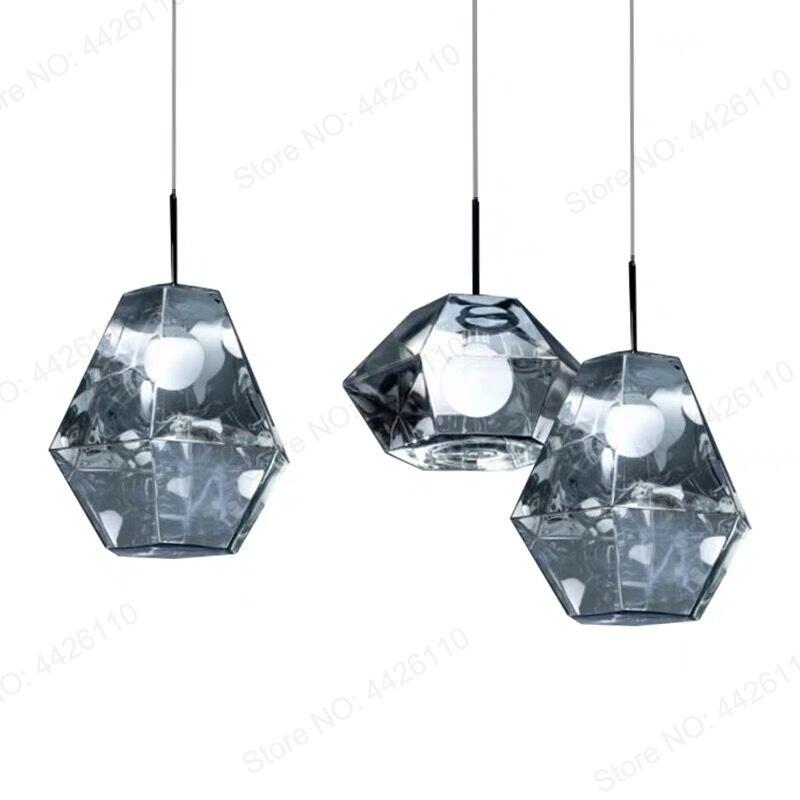 BLUBBLE colgante de acrílico luces Tom Dixon figura lámpara colgante metálico Crysta Hanglamp pasillo del Hotel SALÓN DE colgando de la lámpara LED - 2